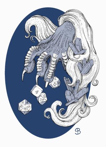 Sara Bonora per Immaginaria disegna una zampa di drago