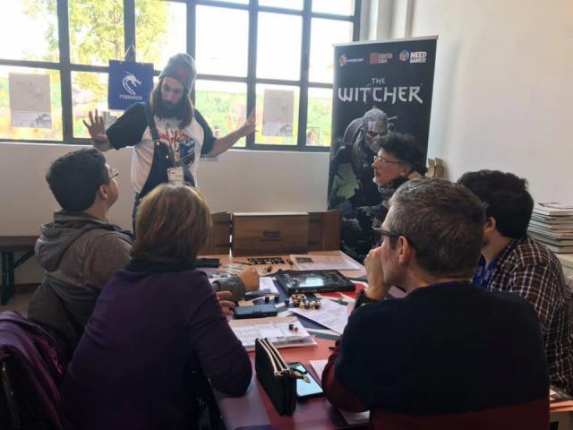 Immaginaria 2018 - Nicola DeGobbis - The Wircher