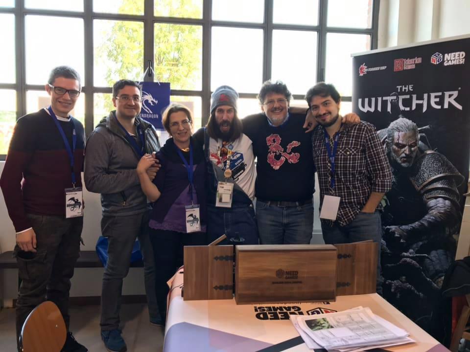 Immaginaria 2018 - Nicola DeGobbis - Need Games!