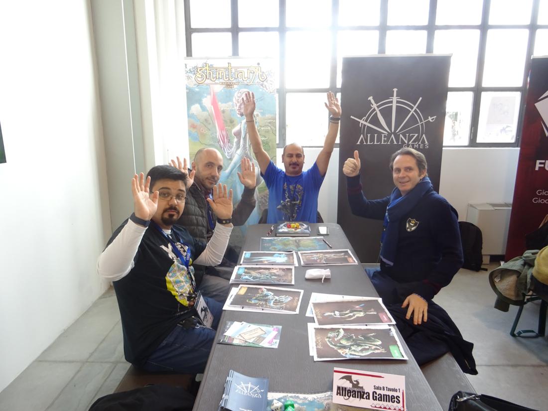 Immaginaria 2018 - Giovanni Ali Pola - Alleanza Games