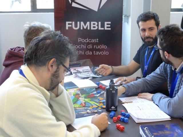 Immaginaria 2018 - Fumble GDR