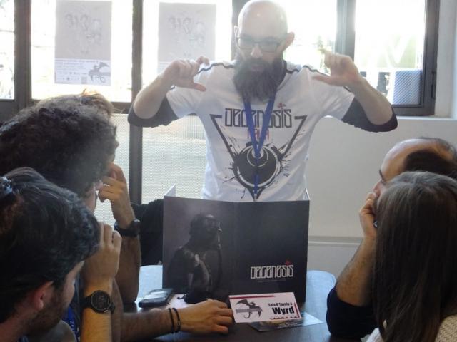 Immaginaria 2018 - Stefano Panza - Degenesis