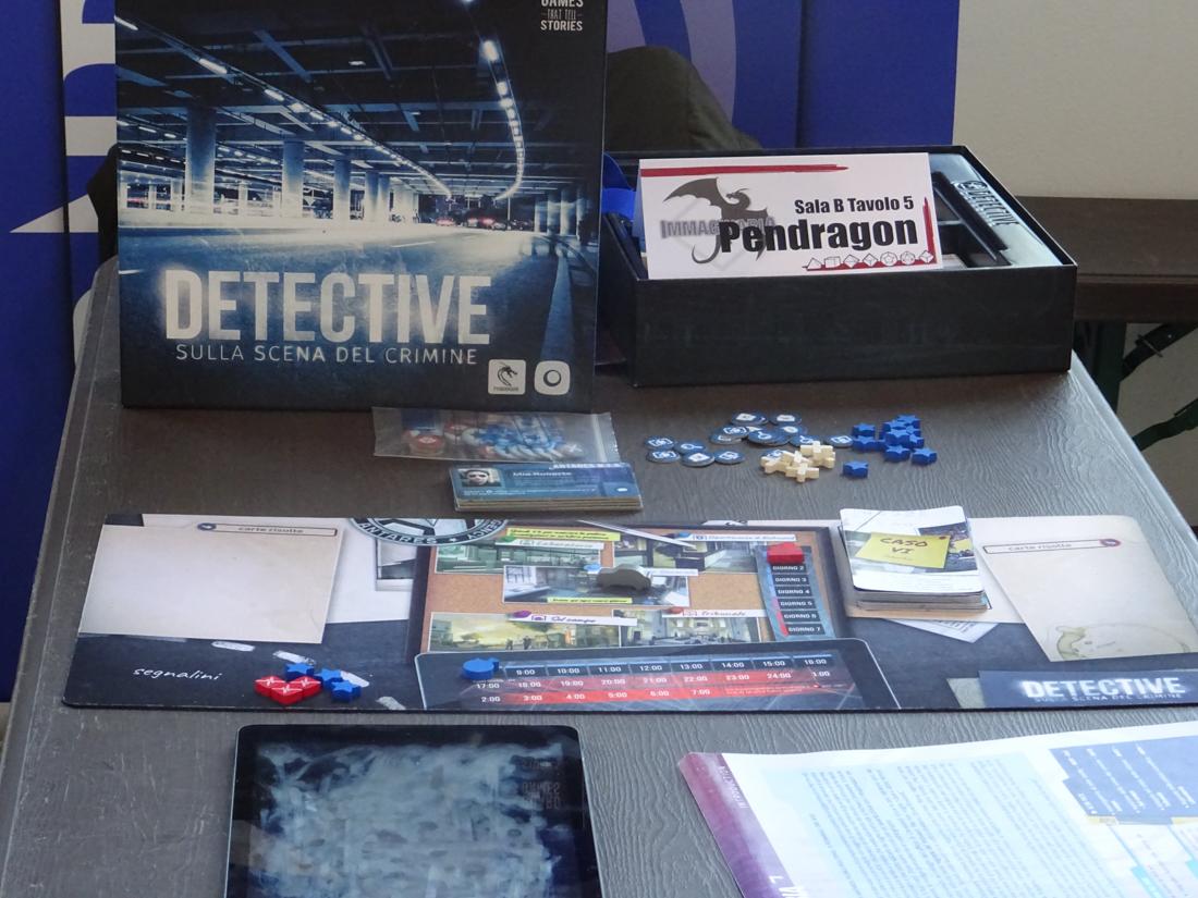 Immaginaria 2018 - Pendragon Game Studio - Detective