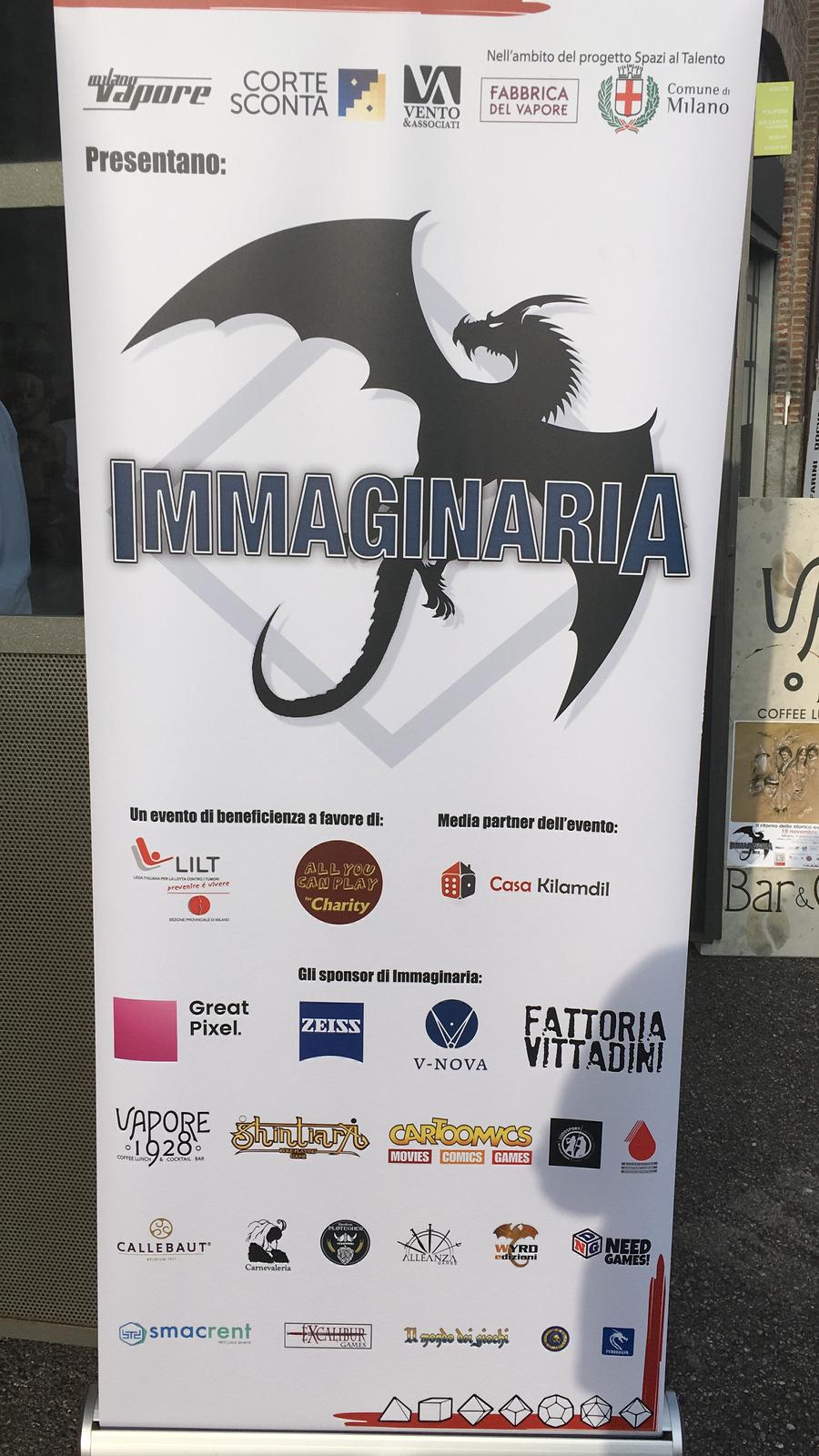 Immaginaria 2018 - Roll up