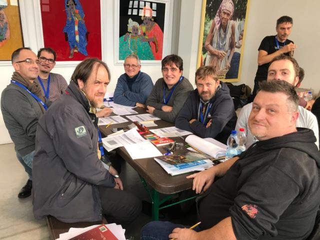 Immaginaria 2018 - Mirko Pelliccioni - Tavolo Gygax